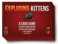Exploding Kittens Original Edition Card Game Best Party Board Fun Family Friends