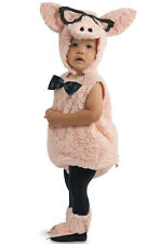 Brand New Hipster Pig Animal Toddler Costume