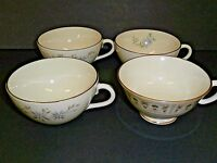 Lenox China Coffee Cups Tea Cups Maywood Wyndcrest Tableau 1 Footed Lot of 4!!