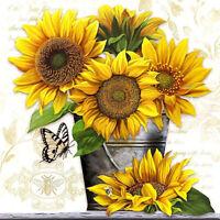 Full drill Diamond Painting Sunflower Handicraft Embroidery Cross Stitch 6915H