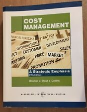 Cost Management A Strategic Emphasis by Edward Blocher, 5th edition