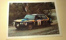 SAAB 99  - WEETBIX AUSTRALIA Rally Champs Swap Card