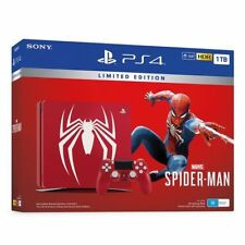Sony PlayStation 4 Slim with Spider-Man Limited Edition 1TB Amazing Red Console