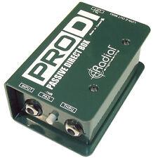Radial Pro DI Direct Box - PRODI - R800 1100