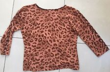 Covers Australia Jumper Knit Coral Animal Med/LGE