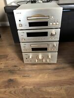 TEAC A-H500, T-H500, R-H500, PD-H500 Tuner, Amplifier, Cassette Compact Player
