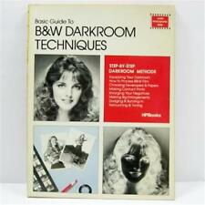 Basic Guide to Black White Darkroom Techniques 1982 HP Books Paperback 96 pages