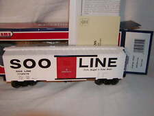 Williams by Bachmann 47025 Soo Line 40 Ft Box Car MIB O 027 New