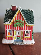 California Creations Christmas Village Hand Painted Grandpa's Candy 10293