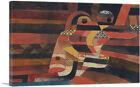 ARTCANVAS Lovers 1920 Canvas Art Print by Paul Klee