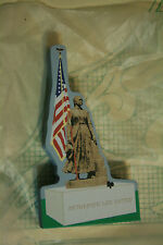 Cats Meow Village 2002 Club Piece Katharine Lee Bates Statue #C021