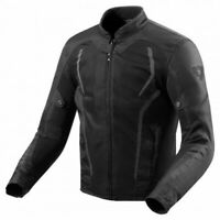 Giacca moto Rev'it Revit GT-R Air 2 nero black taglia XL jacket estiva traforata