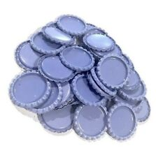 10 pcs. Purple flattened bottle caps