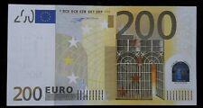 Superbe Billet 200 EURO 2002 W.Duisenberg FRANCE  U T001