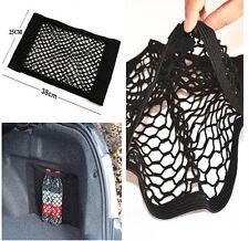 15x9.8in Car Trunk Seat Back Rear Elastic String Net Storage Bag For Hyundai Kia