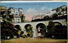 CP Monaco - Le Pont et l'Eglise Ste Dévote
