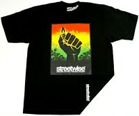 STREETWISE BLAZE UP T-shirt Urban Streetwear Tee Men's XL-4XL Black NWT