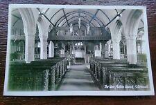 MULLION CHURCH THE KNAVE  POSTCARD