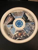 "Vintage 1967 EXPO67 MONTREAL CANADA COLLECTIBLE WORLDS FAIR 11 5/8"" Metal TRAY"