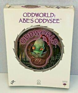 Oddworld Abes Oddysee Big Box PC Video Game 100% Complete Manual Boxed Retro