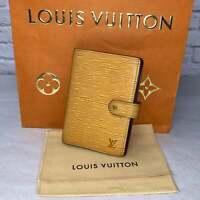 Louis Vuitton Agenda PM Epi Wallet Speedy Pochette Neverfull Purse Bag AUTHENTIC