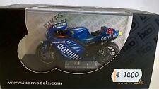 Ixo 1 24 moto Die cast Gia' montado Yamaha Yzr-m11 4 Barros MotoGP 2003 Rab062