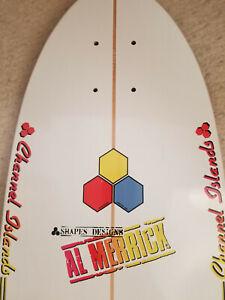 Carver Surfskate Al Merrick Channel Islands Skateboard Deck - alva dogtown
