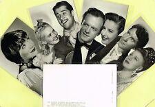 ARCHIVO BERMEJO - 1950s Film Star Postcards produced in Spain #2825 to #7372