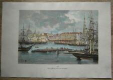 1880 Reclus print RIGA, LATVIA (#29)