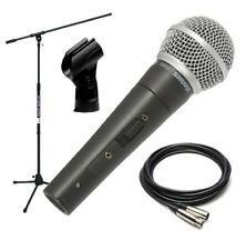 Shure SM58S Dynamic Vocal Microphone with On/Off Switch PERFORMER PAK