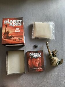 PLANET OF THE APES RARE RUNNING PRESS MINIKIT WITH BOOKLET STATUE AUDIO & FIGURE