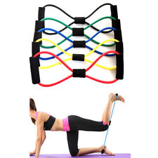Elastic Rubber Resistance Latex Band Loop Yoga Fitness Exercise Training HU