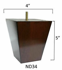 """5"""" Pyramid taper furniture feet ( set of 4 )"""