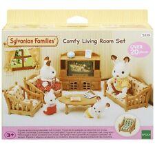 Sylvanian Families 5339 Conjunto de muebles cómoda sala de estar