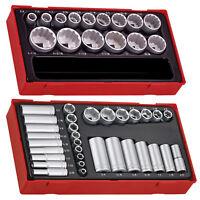 Teng Tools 47 Piece Mixed Drive SAE Socket Set