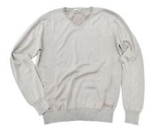 Herren-Pullover & -Strickware mit V-Ausschnitt und regular Länge Schlanke-Größen