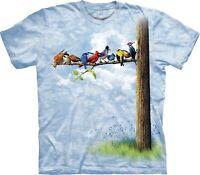 Bird Tree Birds T Shirt Adult Unisex The Mountain