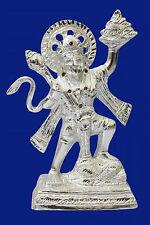 White Metal statue/carving idol/Figurines of lord  Hanuman Bajrang Bali
