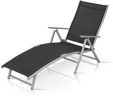 Garden Patio Fold Away Aliumium Sun Loungers Chairs , Patio Beds