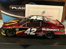 2018 Action Kyle Larson #42 McDonalds 1/24 Color Chrome Autographed Door # 0042