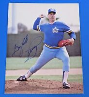 GAYLORD PERRY SIGNED 8x10 PHOTO ~ MARINERS - HOF ~ BASEBALL AUTOGRAPH