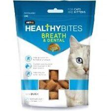 Vetiq Breath & Dental Care Bites For Cats 65g - Healthy Cat Treats Mark