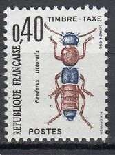 FRANCE TIMBRE TAXE NEUF N° 110  **  INSECT PAEDURUS LITTORALIS