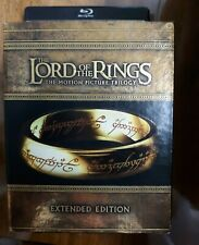 New ListingThe Lord of the Rings: Trilogy Blu-ray 15 Disc Set Extended Edition like New