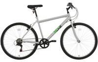 "Ridge Mens Mountain Bike 26"" Wheels Bicycle Cycle Steel Frame V-Brakes 6 Gears"