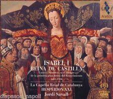 Isabel I - Reina De Castilla / Savall, Hesperion XXI - SACD
