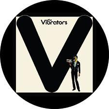 CHAPA/BADGE THE VIBRATORS . pin button punk sex pistols penetration slits clash