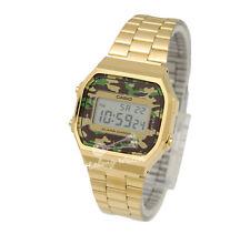 -Casio A168WEGC-3D Digital Watch Brand New & 100% Authentic