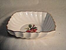 Royal Adderley Poinsettia Bon Bon Dish - Nuts/Candy Bowl