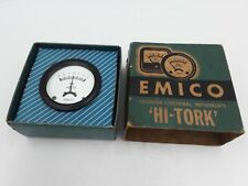EMICO HI TORK  Type NF2C  2136  DC VOLTS  3-0-3 GUAGE Electrical Instrument